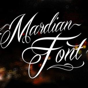 Mardian - font
