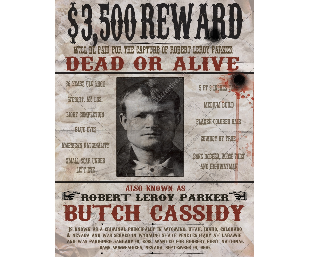 Buy printable wanted poster - Wild west wanted poster template, wild ...