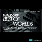 Waldorf presets, Waldorf largo presets,Waldorf Best Of 2 Worlds analog and digital