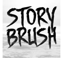 Story brush - font family