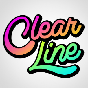 Clear Line - font