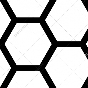167 Hexagon, tech and futuristic patterns pack