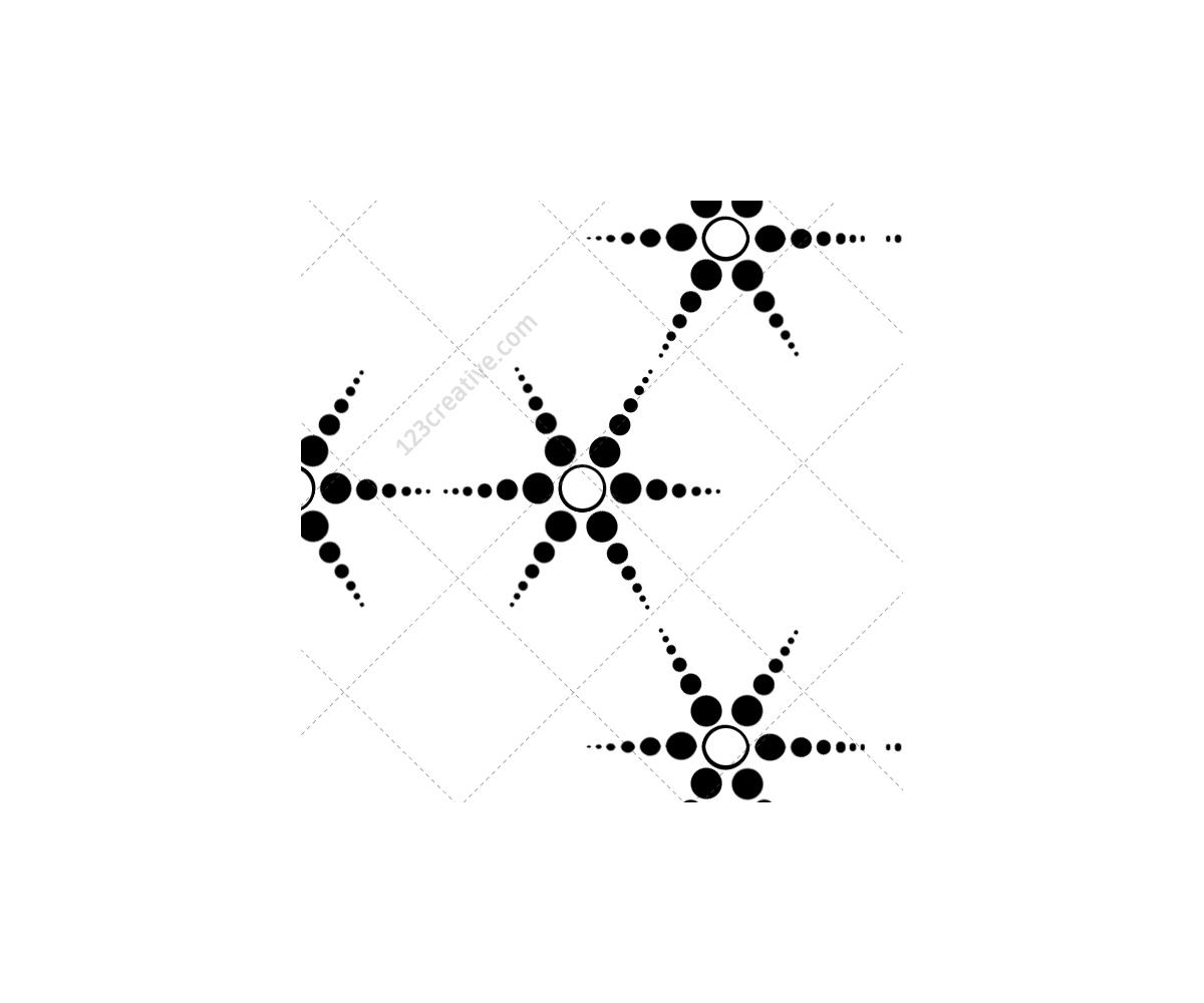 Hexagon, Matrix, Futuristic, Tech, Line, Dot, Grid