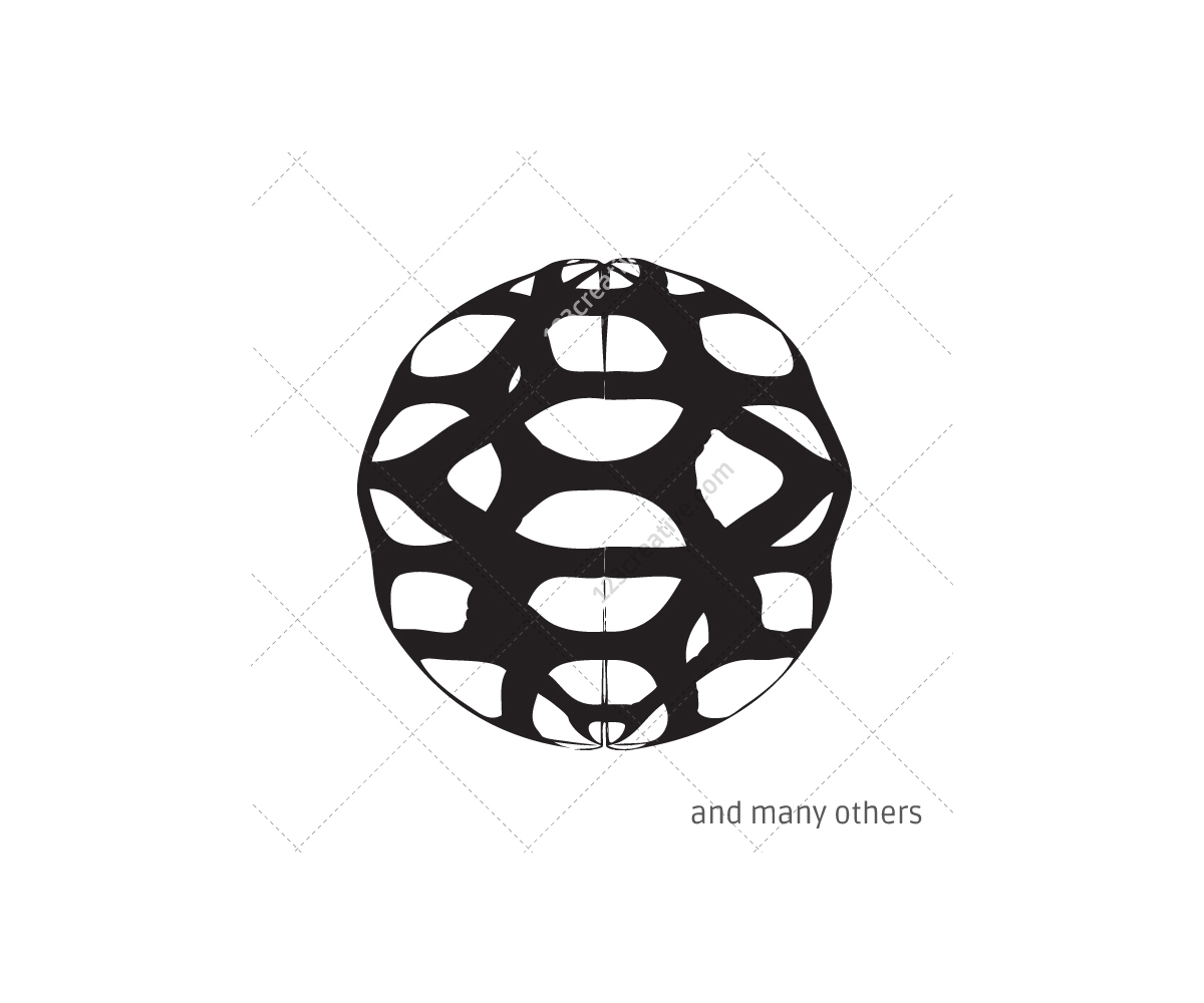 abstract 3d techno elements  vector pack