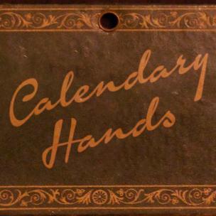 Calendary Hands - font