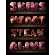 steak styles, scary layer styles, buy photoshop styles, killer style asl