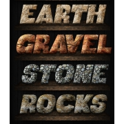 grunge styles for photoshop, dirty text effect, rock styles asl, buy layer styles pack
