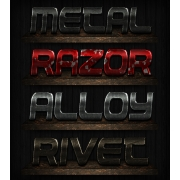 button layer styles, grunge metal styles photoshop, photoshop layer effects, biker text effects