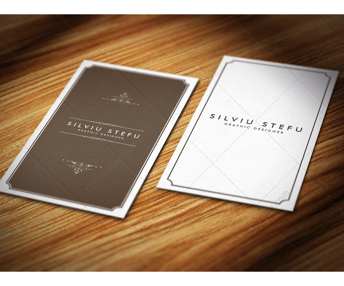 Buy Business Card Mockups Photorealistic Mock Up Templates Of - Menu mockup template