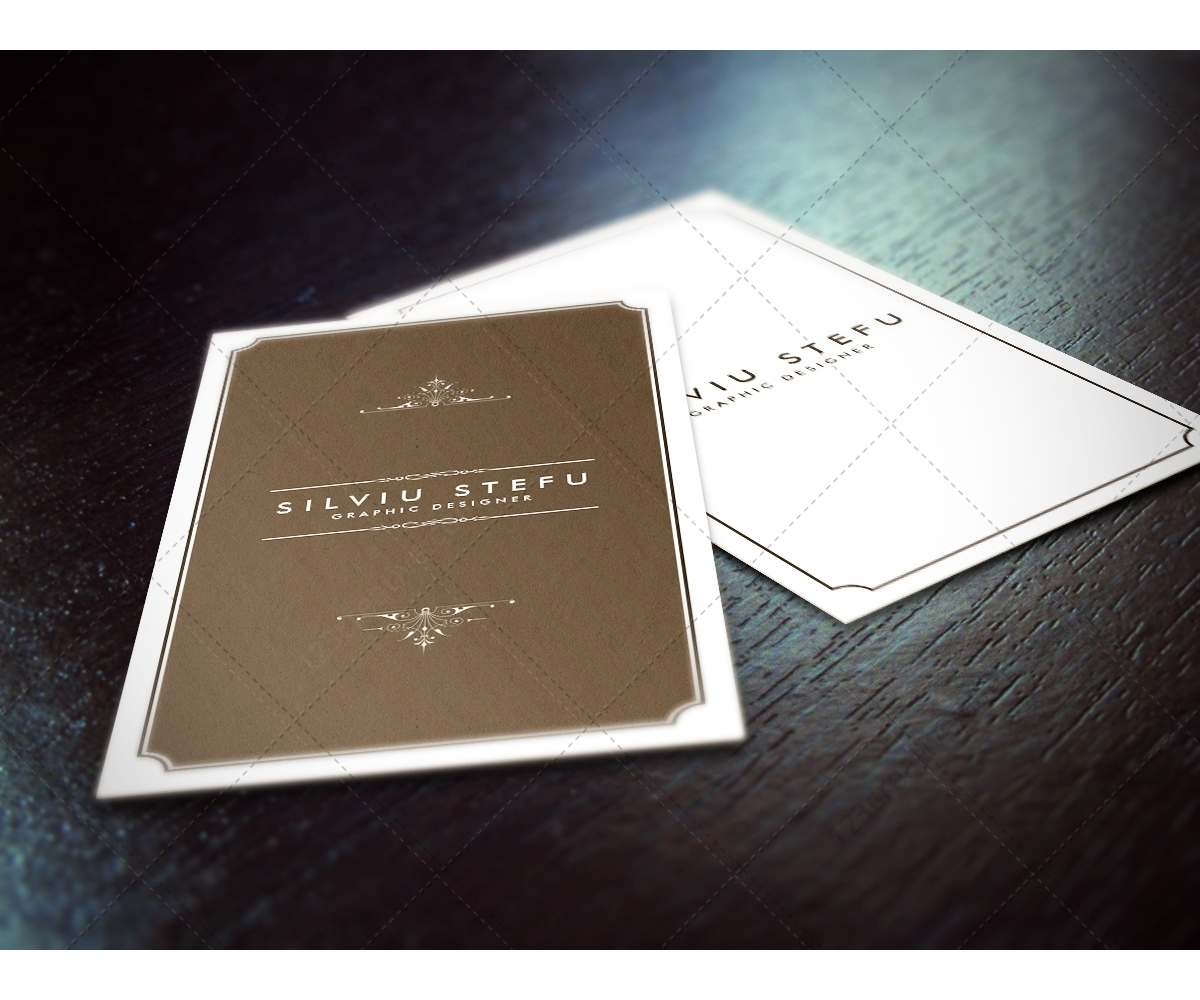 Buy Business Card Mockups Photorealistic Mock Up Templates Of - Ups business card template