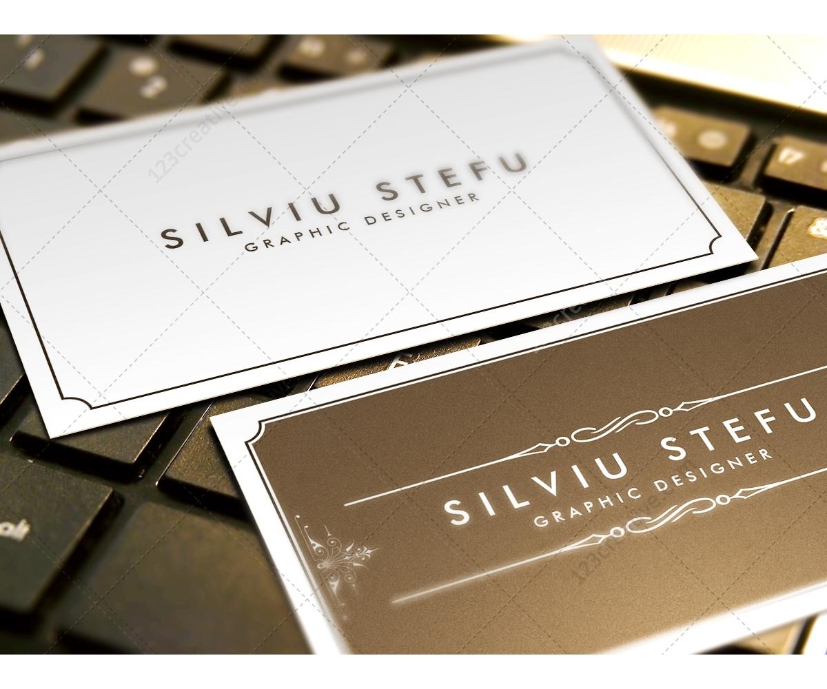 ups business card template