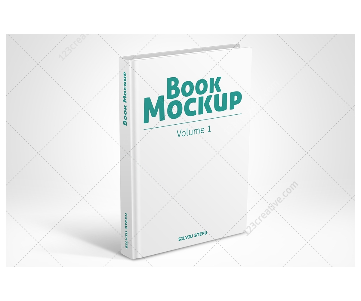 Book Cover Template Mockup : Hardcover book mock ups up design for