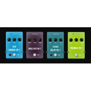 G-Sonique: classic colored pedals 1