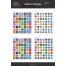 Flat Social Icons Long Shadows, icon design, social media icons, buy icon set