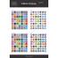 Flat Social Icons Long Shadows, icon design, social media icons, buy icon set