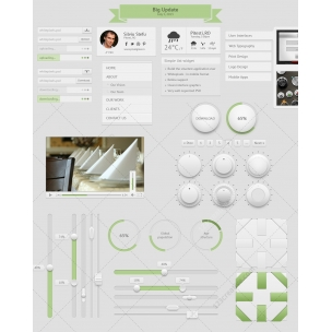 Whitepixels - user interface kit