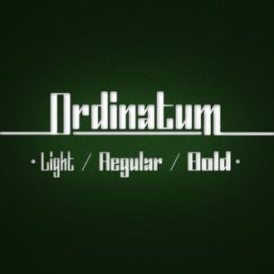 Ordinatum - font family