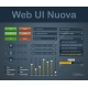 web ui kit, webe lements, faders, buttons, dropdown menu, page slider