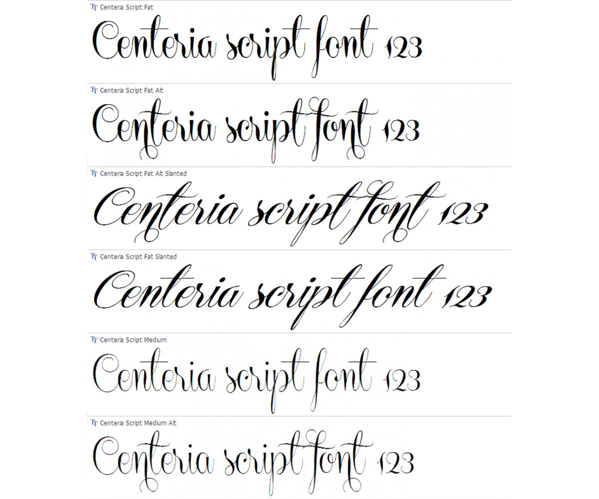 elegant fonts alphabet - photo #24