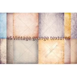 45 Vintage grunge texture pack (digitized)