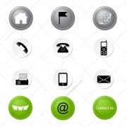 vector icon set, vector web design