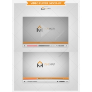 player mock up template for preset your product