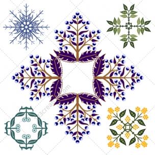 Mandalas vector collection