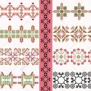 vintage borders vector