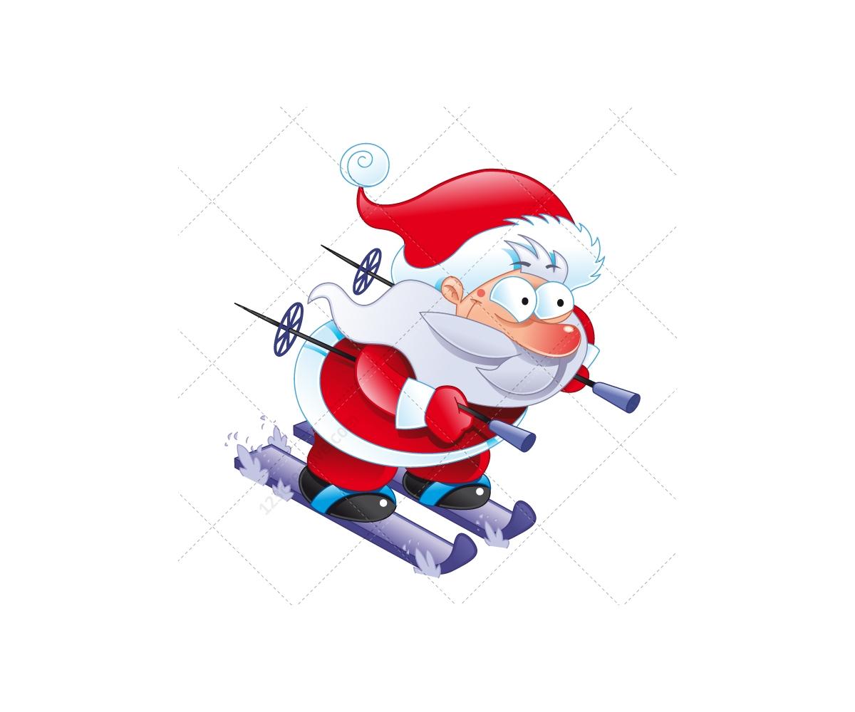 lovely santa claus vector illustration santa claus on