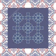 Rustic patterns vector collection