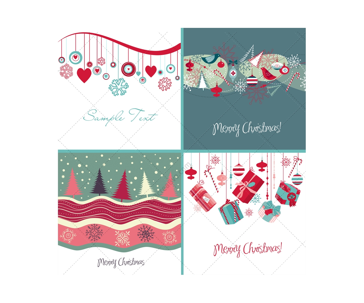 Christmas card vectors various nice christmas card templates many nice christmas card vectors nice merry christmas card vectors decorations presents m4hsunfo