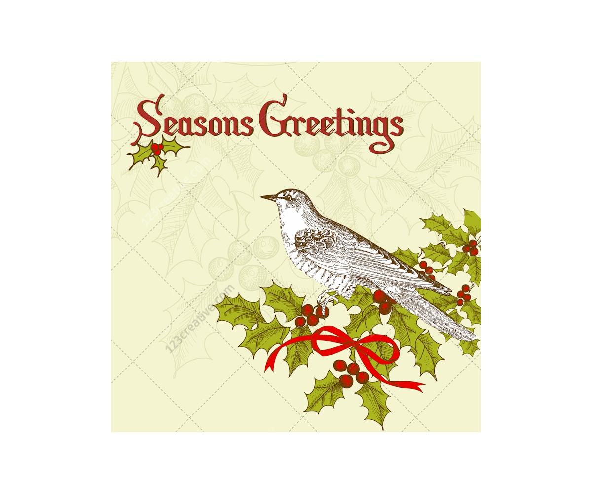 christmas card vectors various nice christmas card