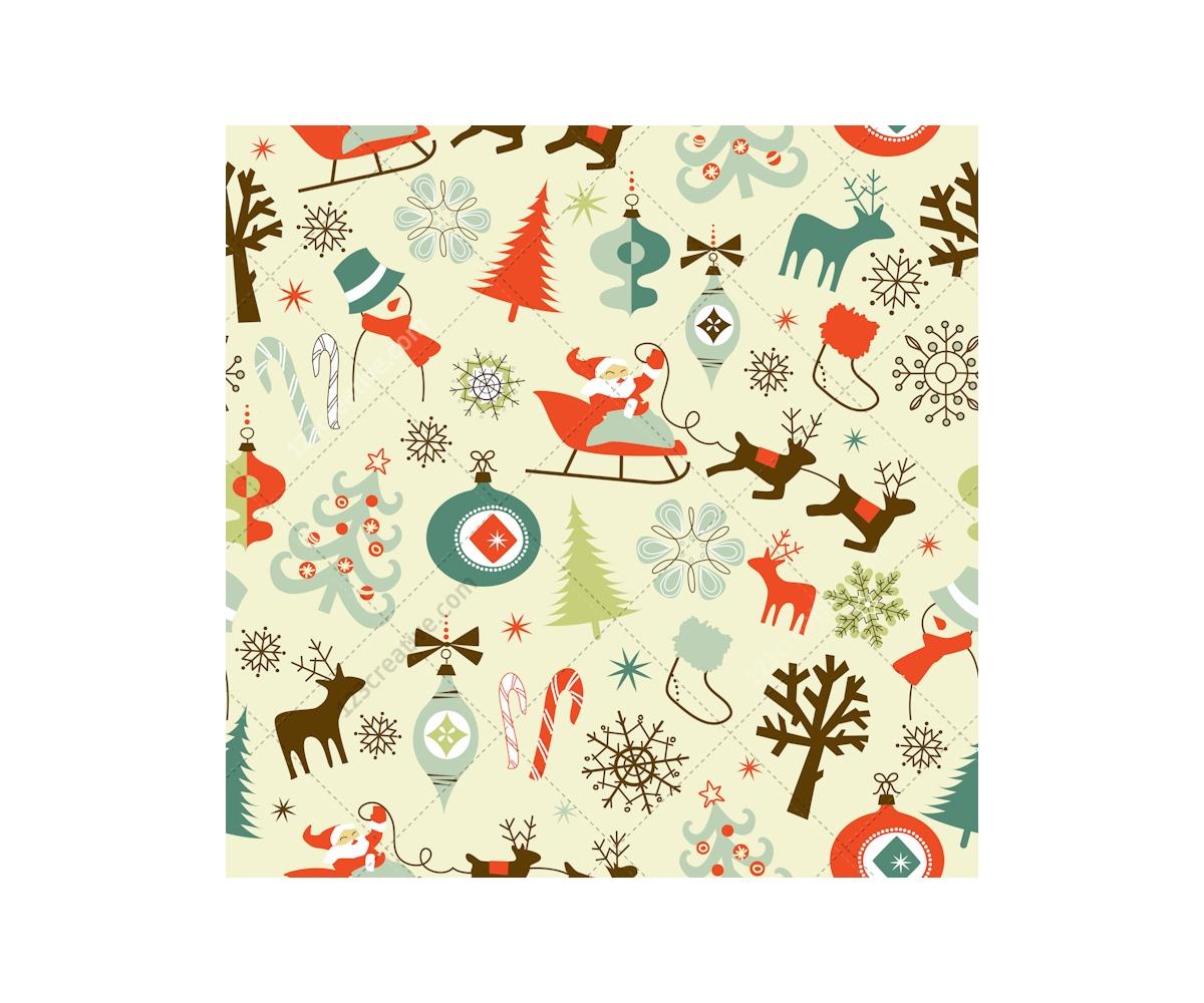 retro christmas decorations uk