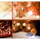 christmas backgrounds for christmas cards, christmas bokeh lights