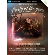 event poster template free download, party flyer free download, download event flyer template