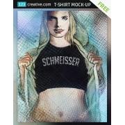 free t-shirt mockup, t-shirt mockup download