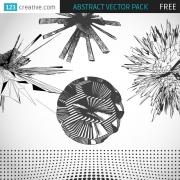 free abstract vectors
