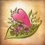 free sweet heart vector illustration