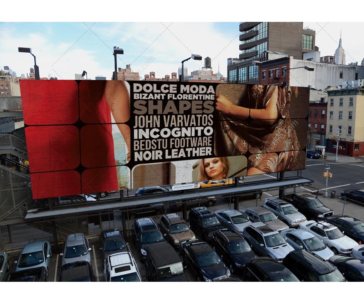 Urban Scenes Mockups Photorealistic Street Mockup