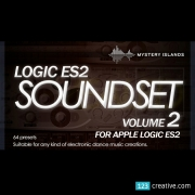 Apple Emagic Logic ES2 volume2, presets for Apple Emagic Logic ES2, patches electronic dance music