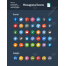 Hexagonal icon set, social media icons