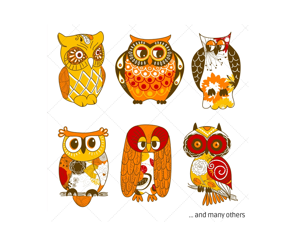 vintage owl cartoon who