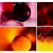 Abstract bubble background textures