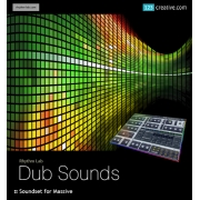Dub Sounds Soundbank for NI Massive, dubstep massive presets, dubstep massive patches