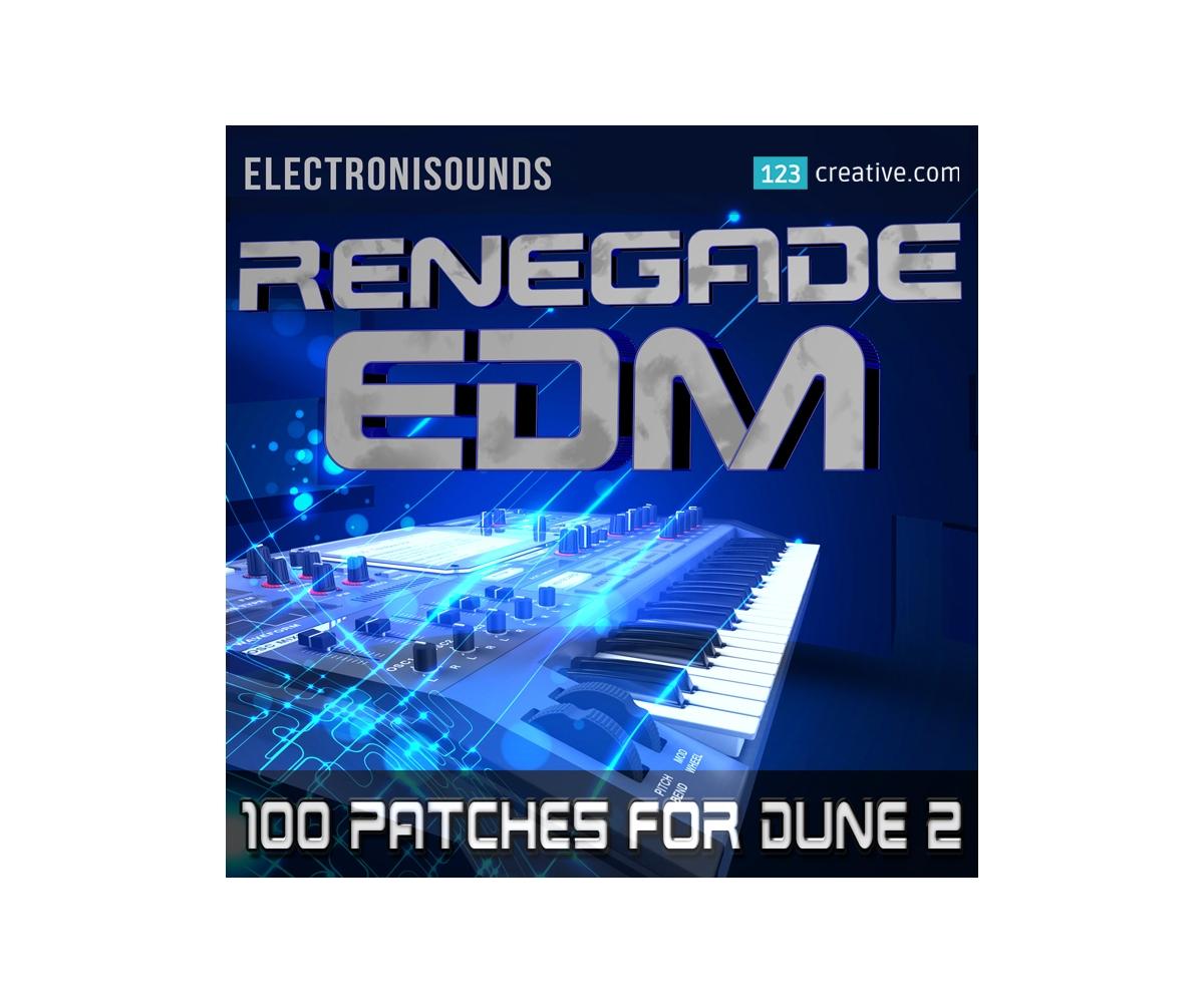 Dune 2 presets - Renegade EDM preset bank for Synapse Audio