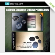 free business card design template, download free business card design