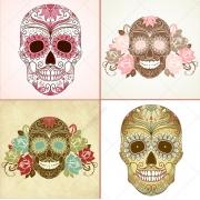 Sugar skull vectors