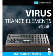 Virus Trance Elements patches Progressive, House, Euphoric, Epic styles for Access Virus TI