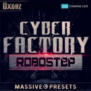 dubstep massive presets DnB music production, cyber factory massive presets, robotic bass presets