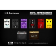 ROCK and METAL Boutique - vst guitar pedal and amp/combo collection
